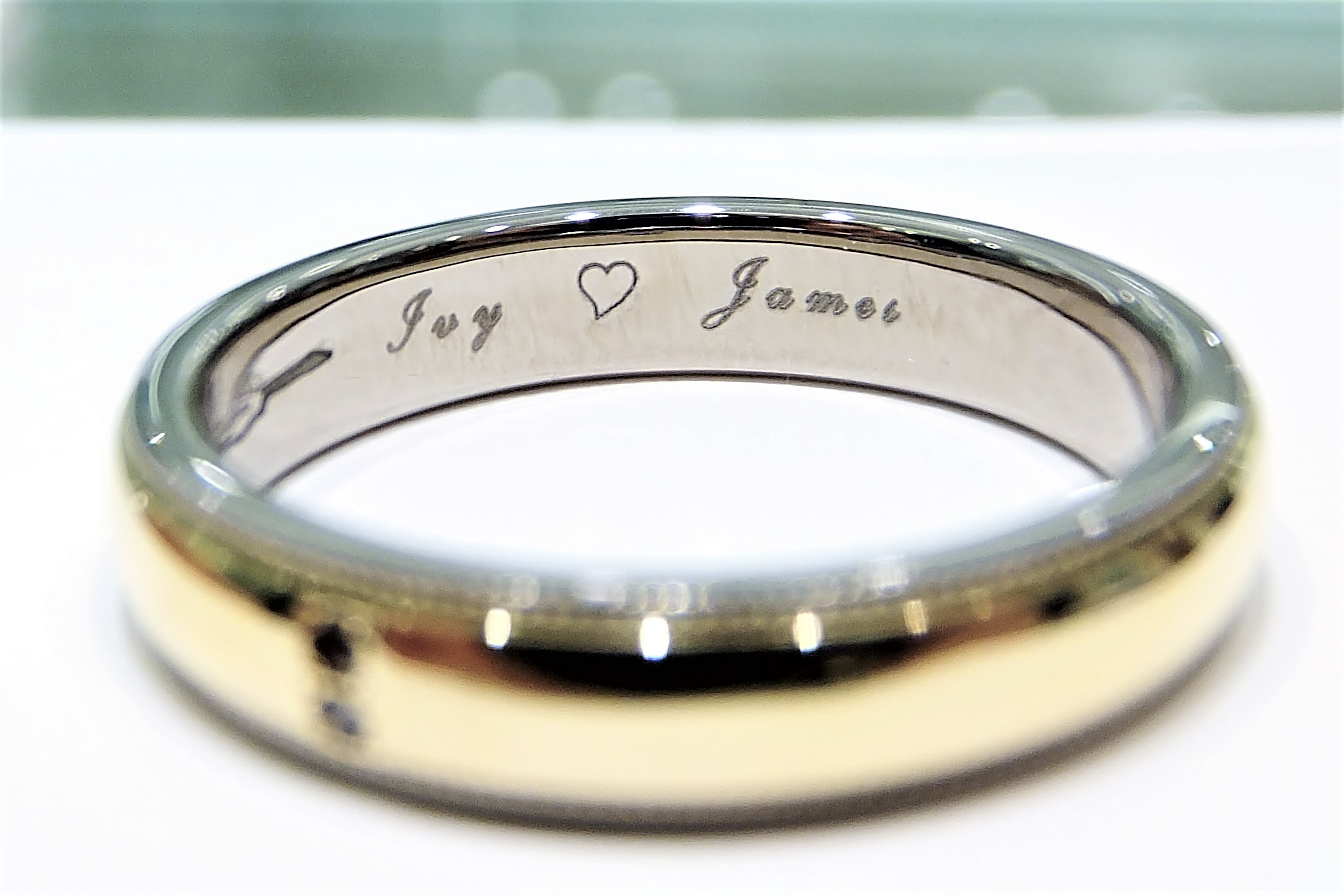 rings a meaningful get band brent from your wedding stylish within jess