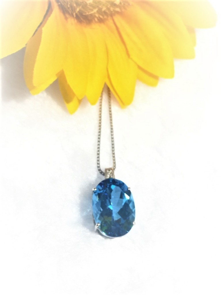 15.85ct Topaz Necklace