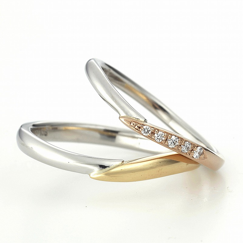 Gold Wedding Bands VENUS TEARS SINGAPORE