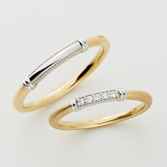 Wedding Bands - Singapore:Passerella Wedding Ring_01