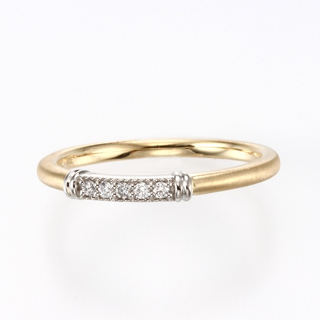 Wedding Bands - Singapore:Passerella Wedding Ring_02s
