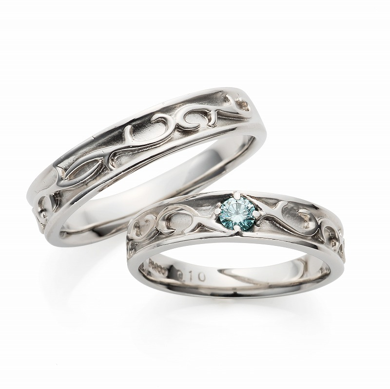Wedding Bands - Singapore:Ocean_01