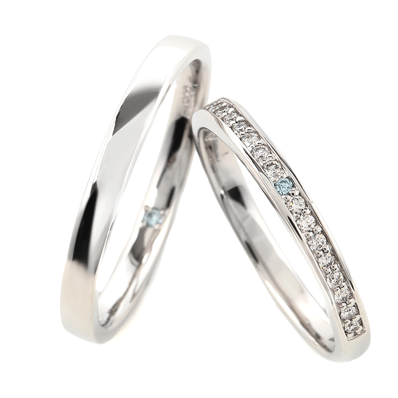 Wedding Bands - Singapore:Starry_01