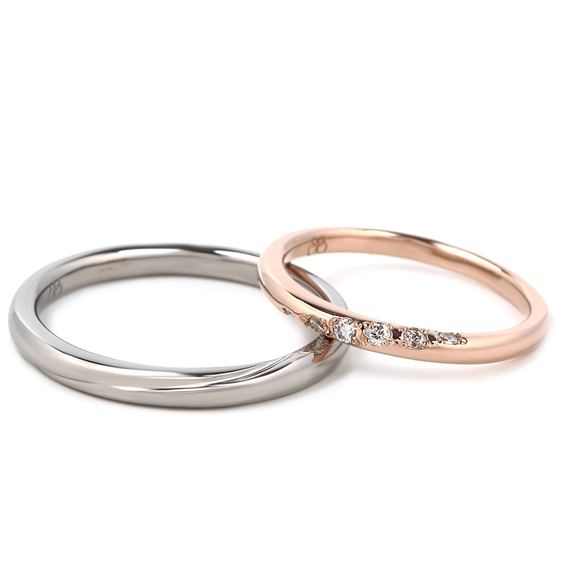 Wedding Bands - Singapore:Wave_02s