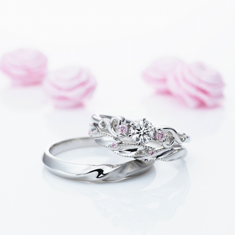 Wedding Bands - Singapore:UNE TRESSE / MR-23_02