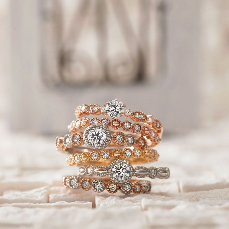Wedding Bands - Singapore:Mon Bijou / AAM-7_03