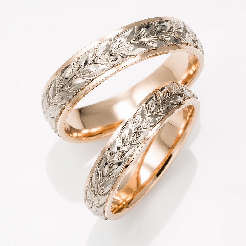 Wedding Bands - Singapore:MAILE LEI 4mm/5mm_01