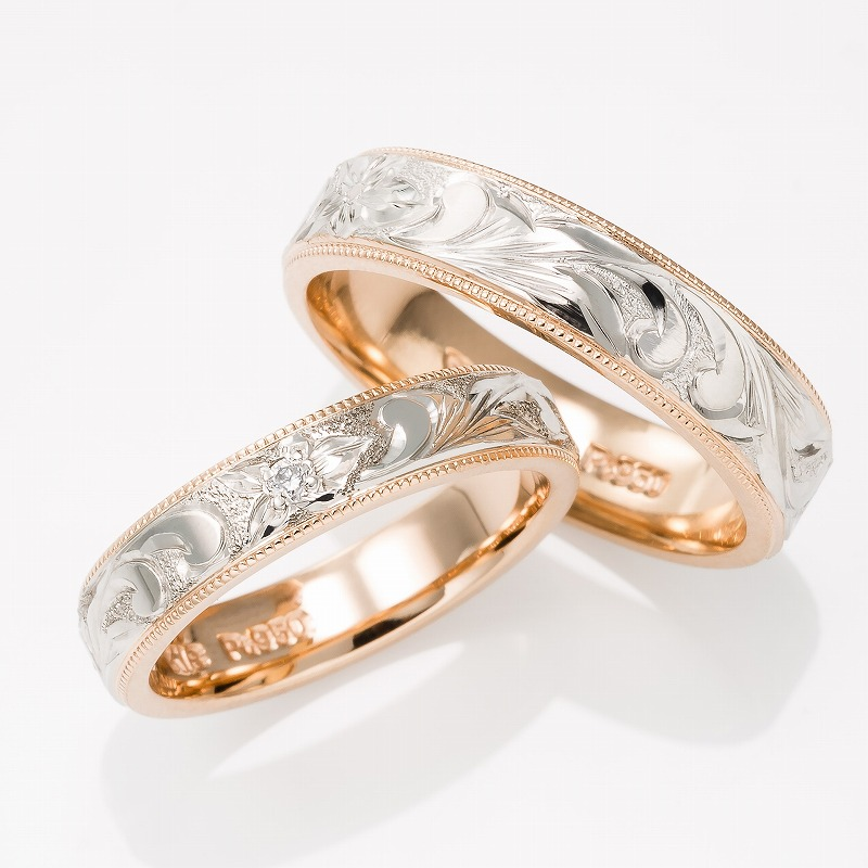 Wedding Bands - Singapore:PRINCESS 4mm/5mm_01