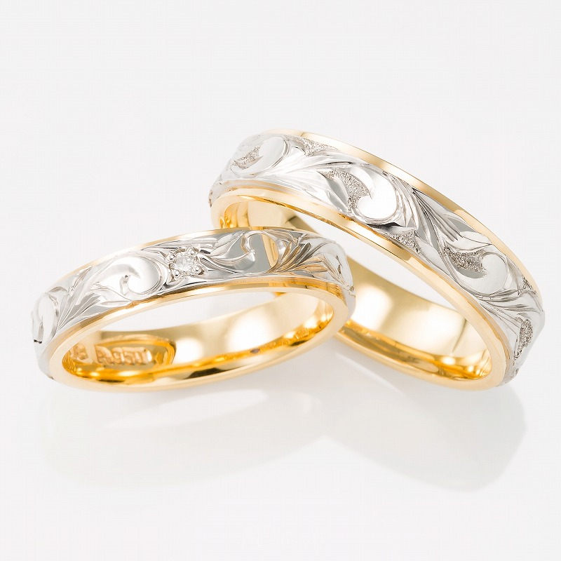 Wedding Bands - Singapore:HERITAGE 4mm/5mm_01
