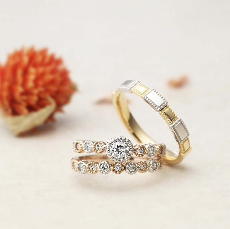 Wedding Bands - Singapore:Mon Bijou / AAM-7_02s