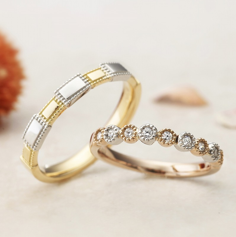 Wedding Bands - Singapore:Mon Bijou / AAM-7_01