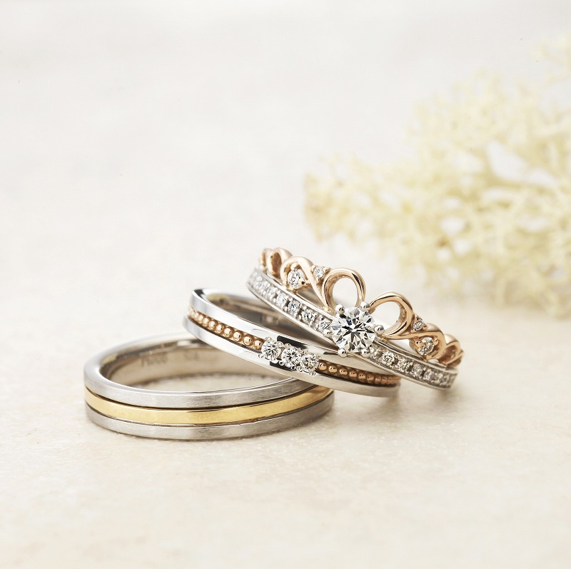Wedding Bands - Singapore:Azalea / AAM-10_02