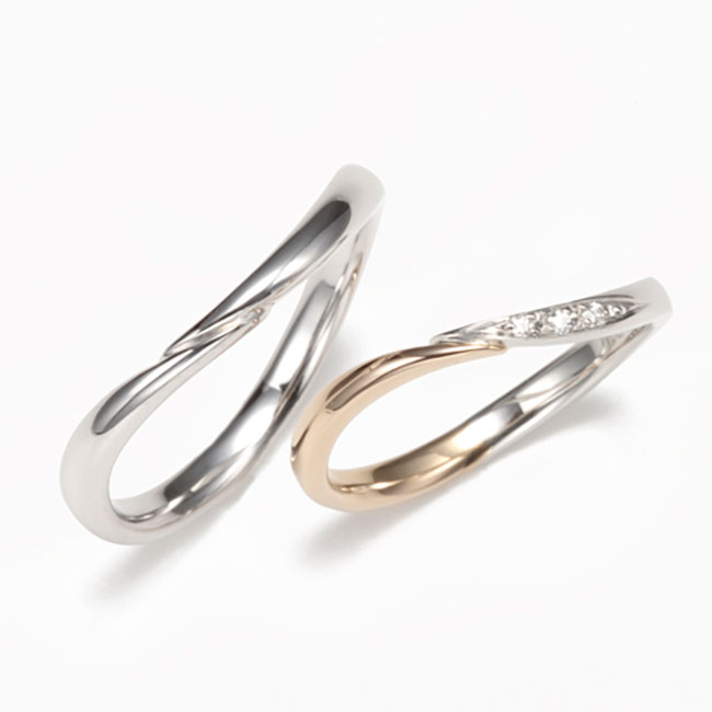 Wedding Bands - Singapore:2T0036/2T0035_01