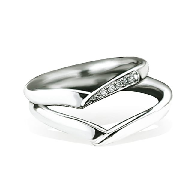 Wedding Bands - Singapore:2V0083/2V0084_01