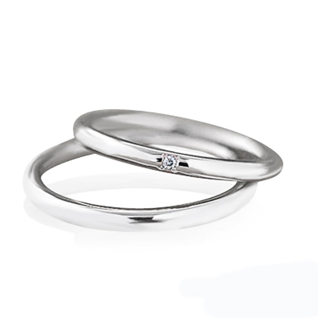 Wedding Bands - Singapore:2V0085/2V0086_01