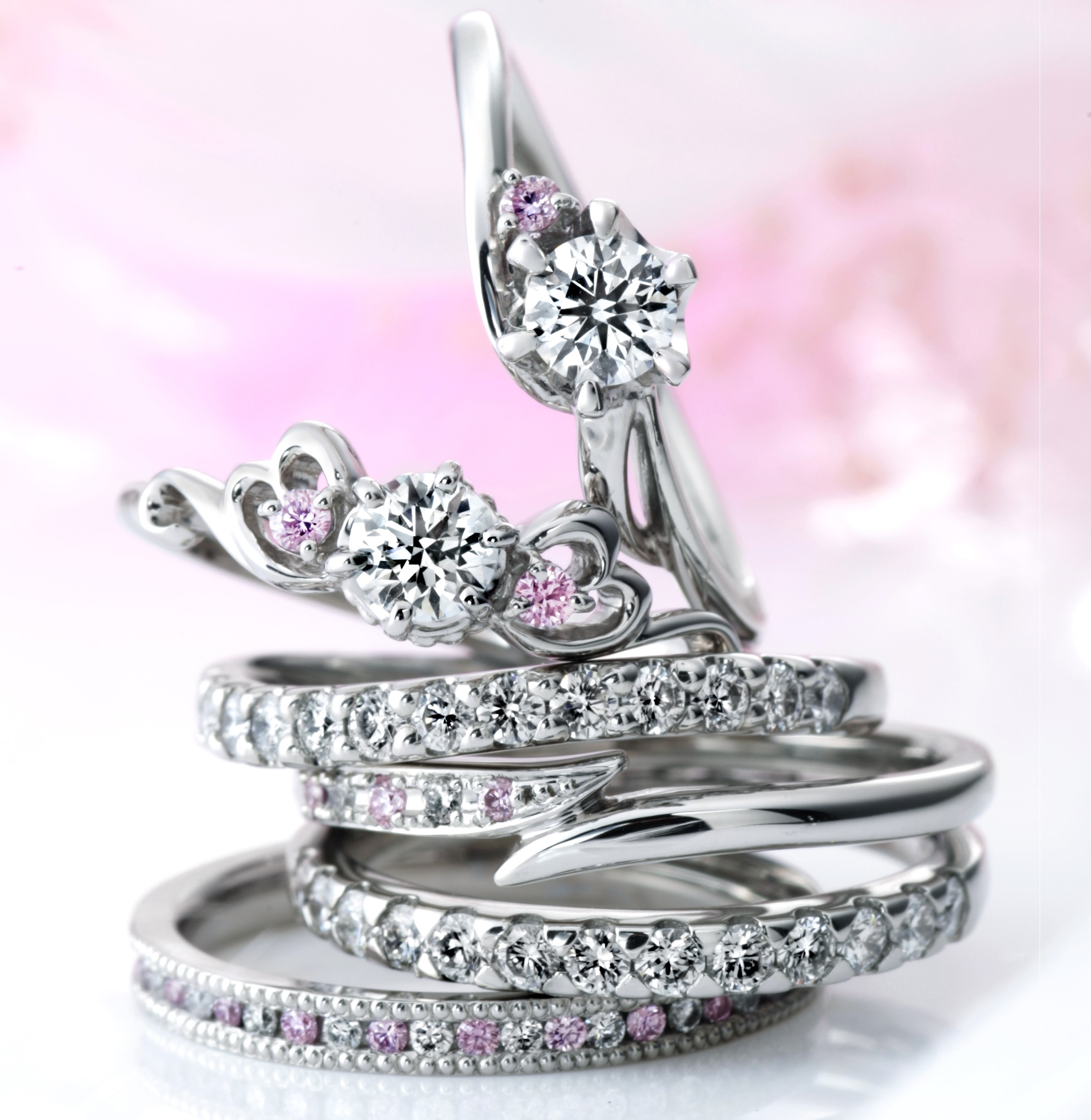 lovely heart font gift b wedding lover rings for promise cheap platinum double