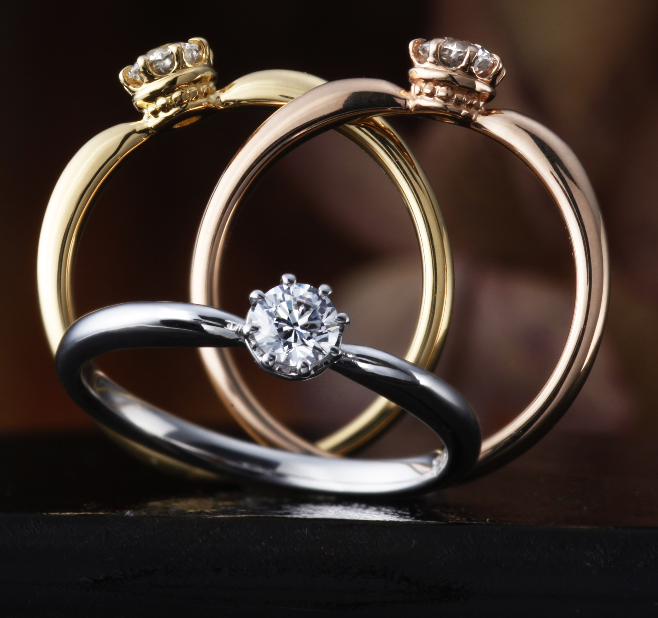 of gold your engagement band metal or full ring with view me yellow gallery solitaire attachment best inspirational wedding show rose white rings