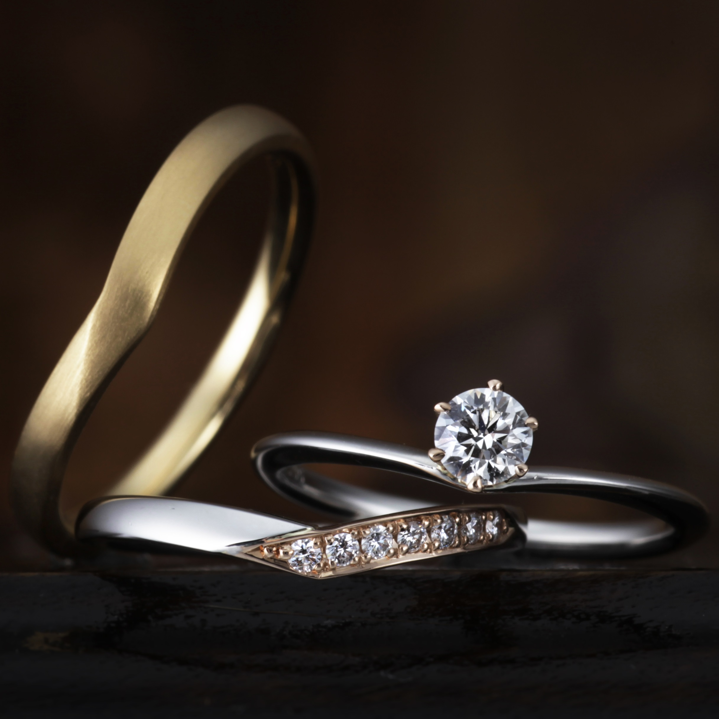 delicate engagement ori single details simple ring wedding diamond rings