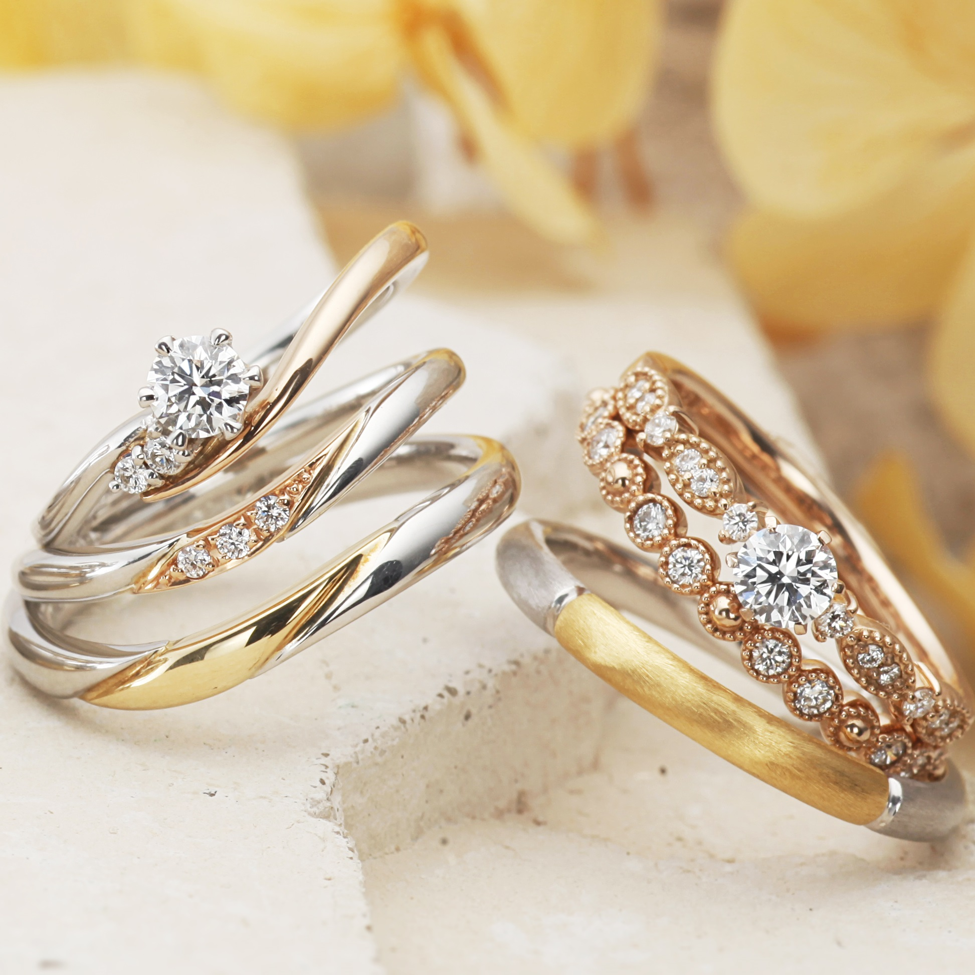 nontraditional bride rings best engagement gallery wedding for glamour every courtesy jewellery