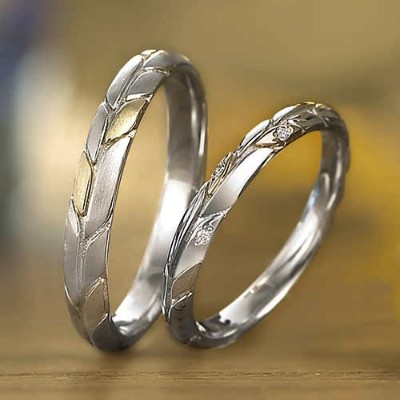 Wedding Bands - Singapore:Montparnasse 1124 1125_01