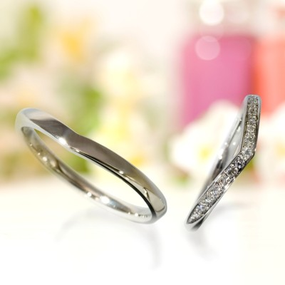 Wedding Bands - Singapore:ABRICOT 1082 1083_01