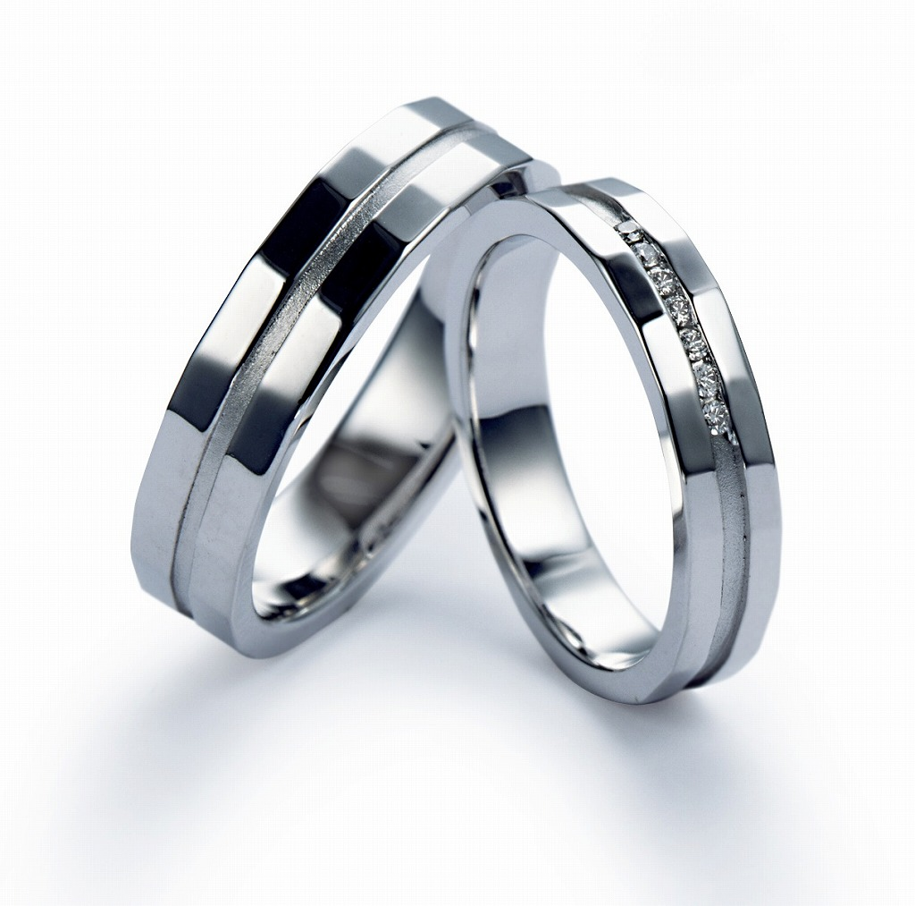 Wedding Bands - Singapore:Champs-Élysées 2242 2243_01