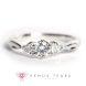 Engagement Ring Singapore: P942-03_01s