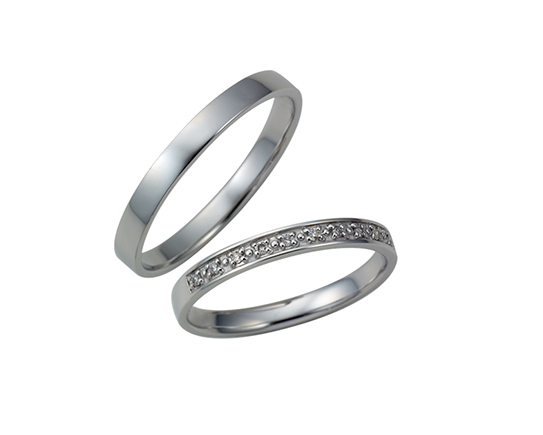 Wedding Bands - Singapore:W-13 / W-14_01