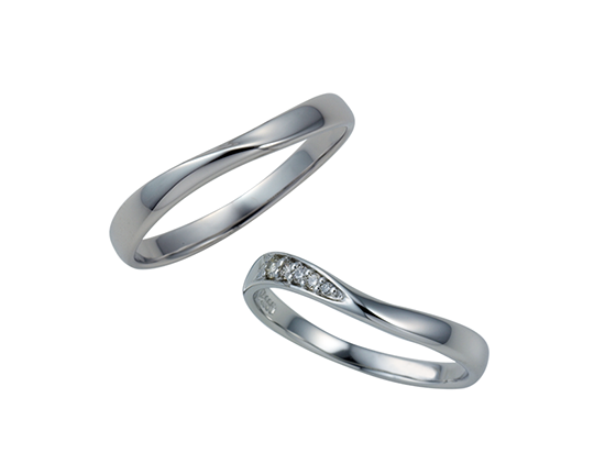 Wedding Bands - Singapore:W-19 / W-20_01