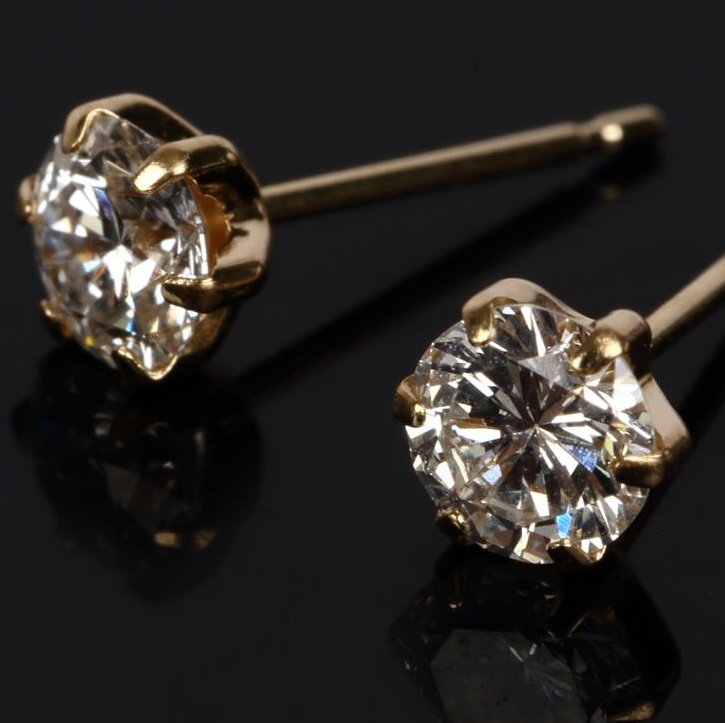 1.0ct Diamond Stud Earrings