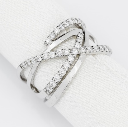 0.58ct Diamond Ring ON-488