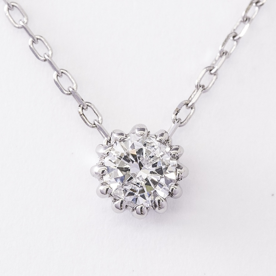 0.2 ct Diamond Necklace JI-3246