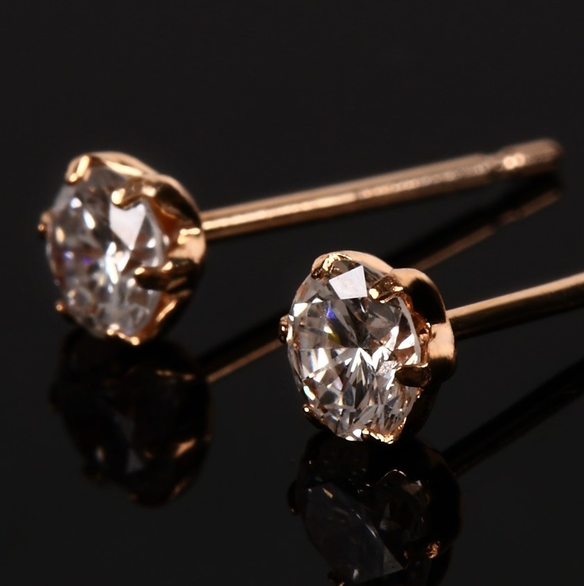 0.3ct Diamond Stud Earrings