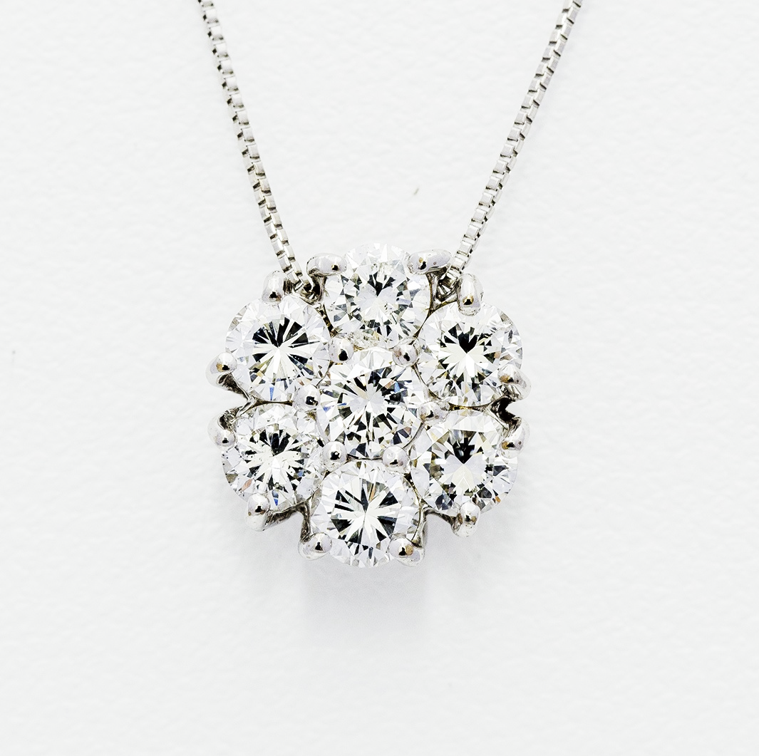 1.0ct Diamond Necklace HKAP0274