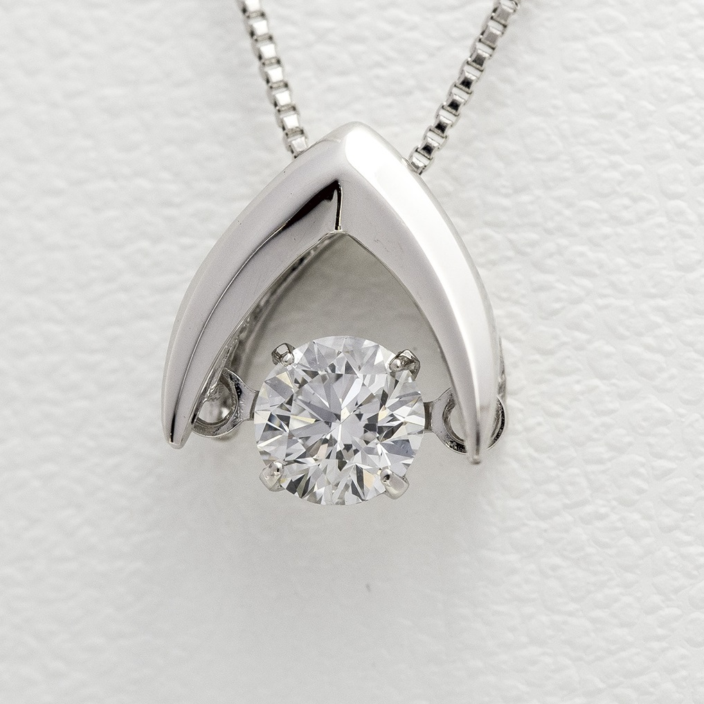 0.2ct Dancing Diamond Necklace