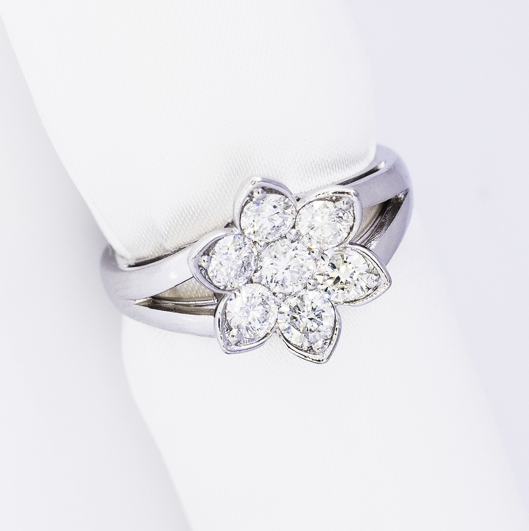 1.0ct Diamond Ring T-34