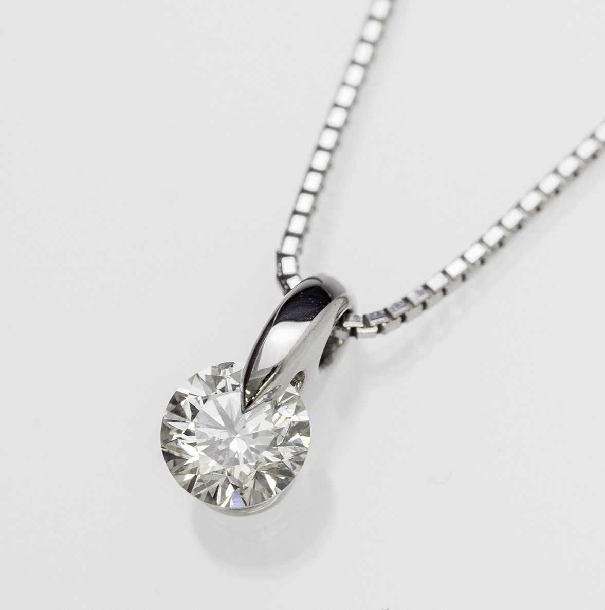 GIA 1.0ct Diamond Necklace ISNT6-6.0