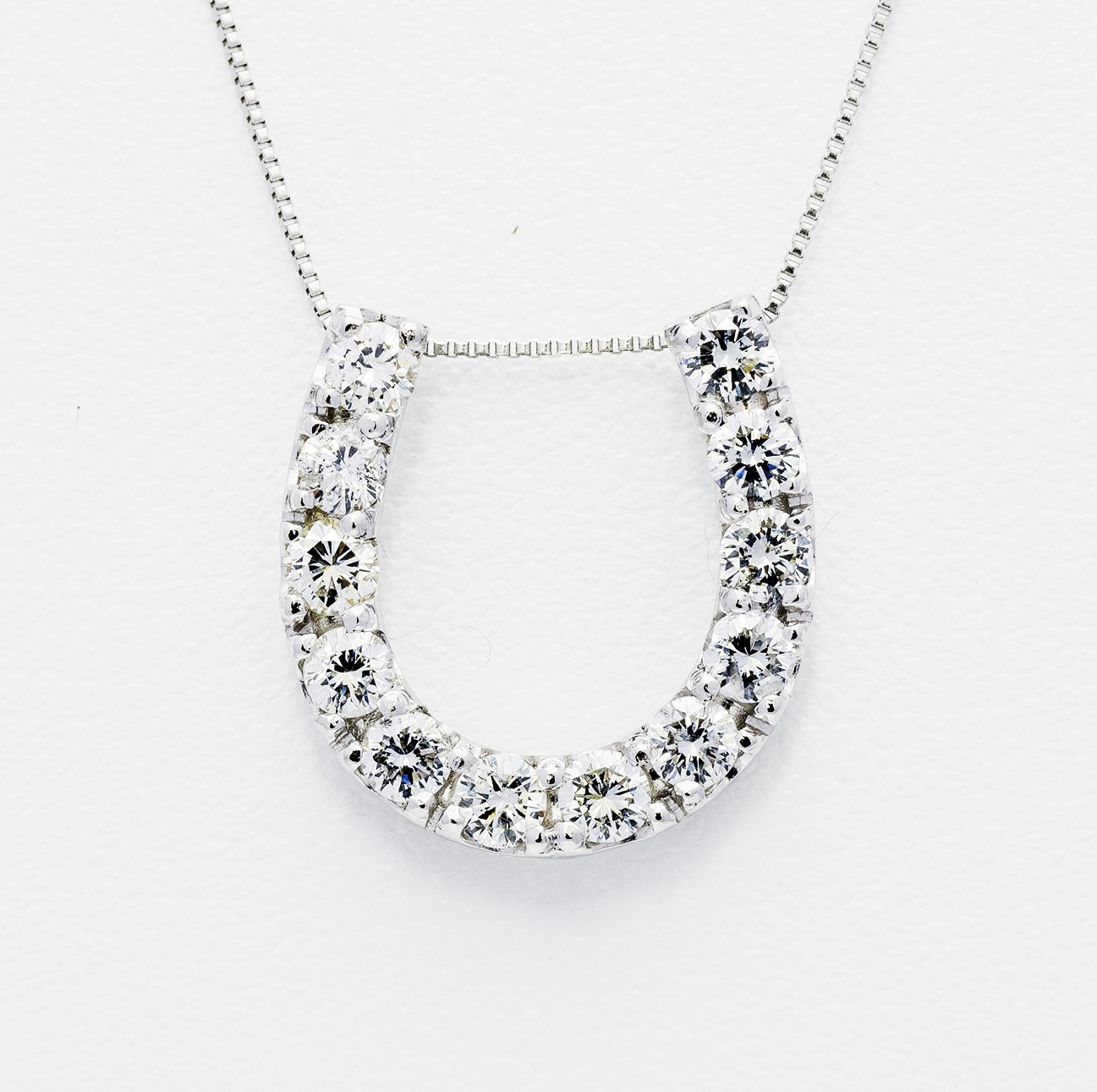 0.9ct Diamond Necklace SIN10759