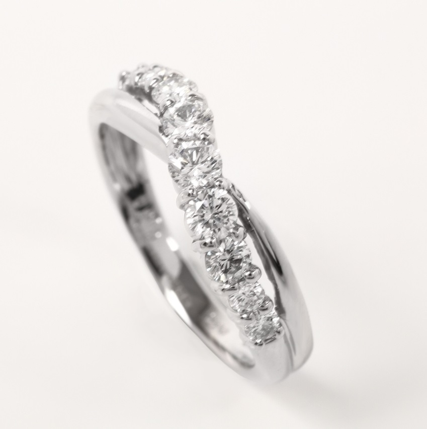 Half Eternity  Diamond Ring AGSA0031