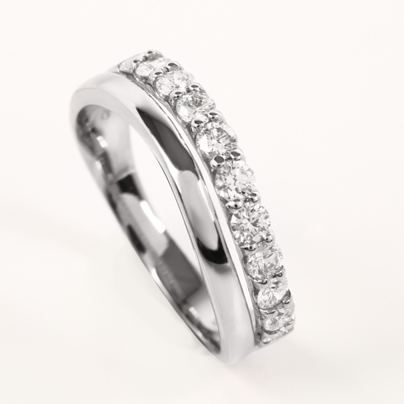 Half Eternity  Diamond Ring AGSA0033