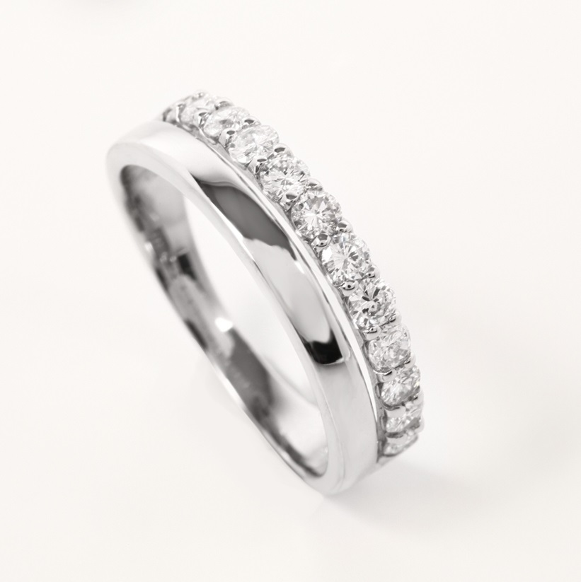 Half Eternity  Diamond Ring AGSA0032