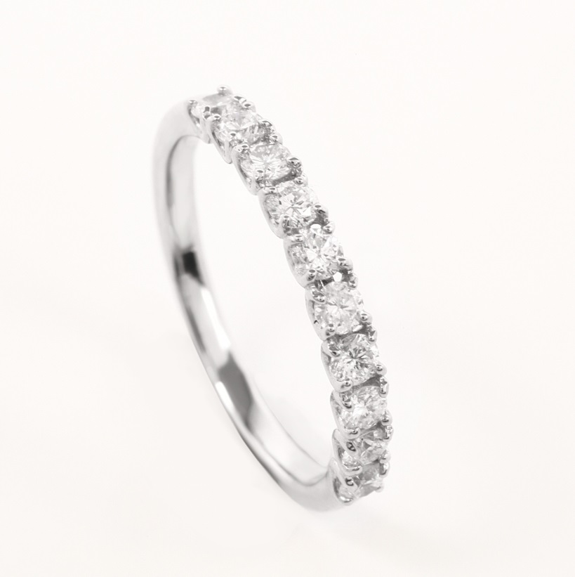 Half Eternity  Diamond Ring THYN0388