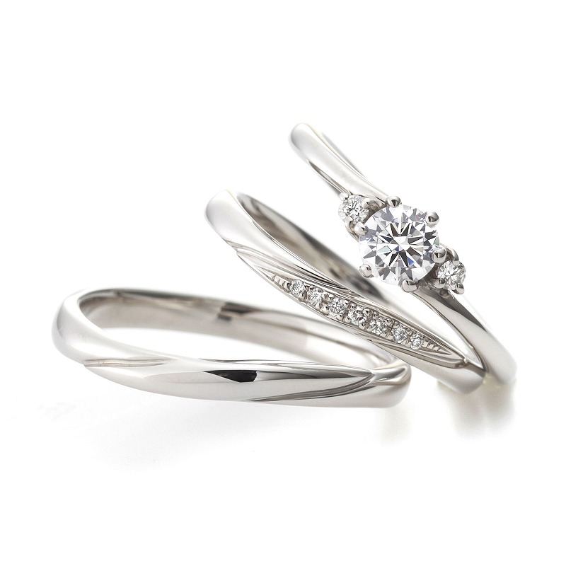 Wedding Bands - Singapore:Lyrique_02