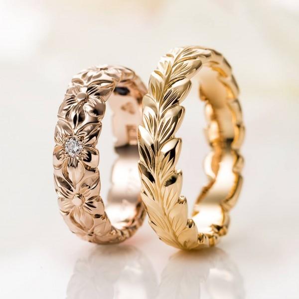 Hawaiian Wedding Rings   Maile Hawaiian Wedding Ring Collection
