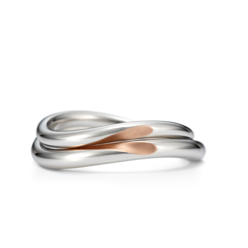 Wedding Bands - Singapore:With heart_01