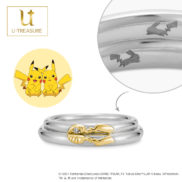 Pikachu Pair Ring