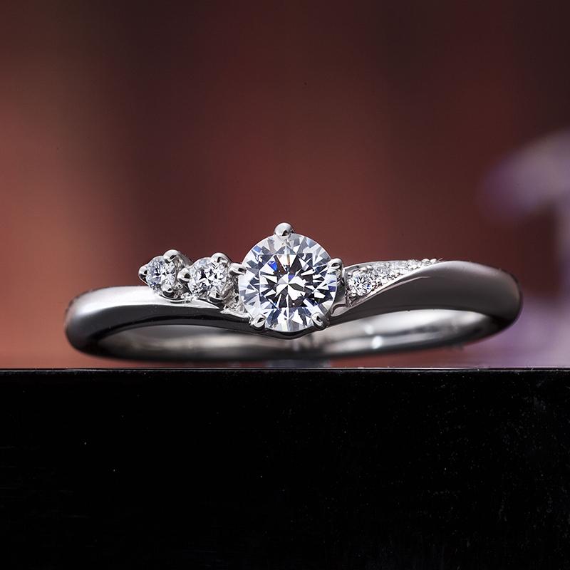 Engagement Ring Singapore: 真心の花束 / IE-13_01