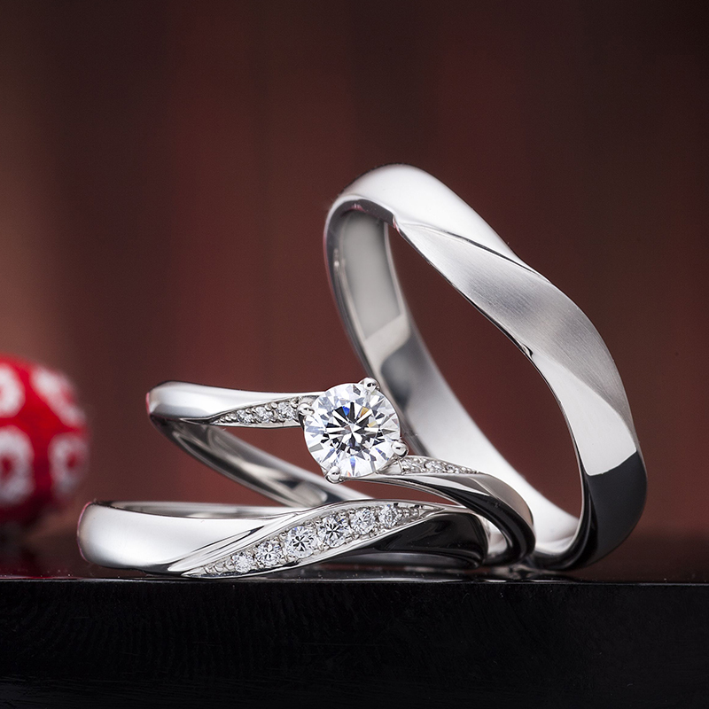 Engagement Ring Singapore: 運命の紡ぎ / IE-14_02