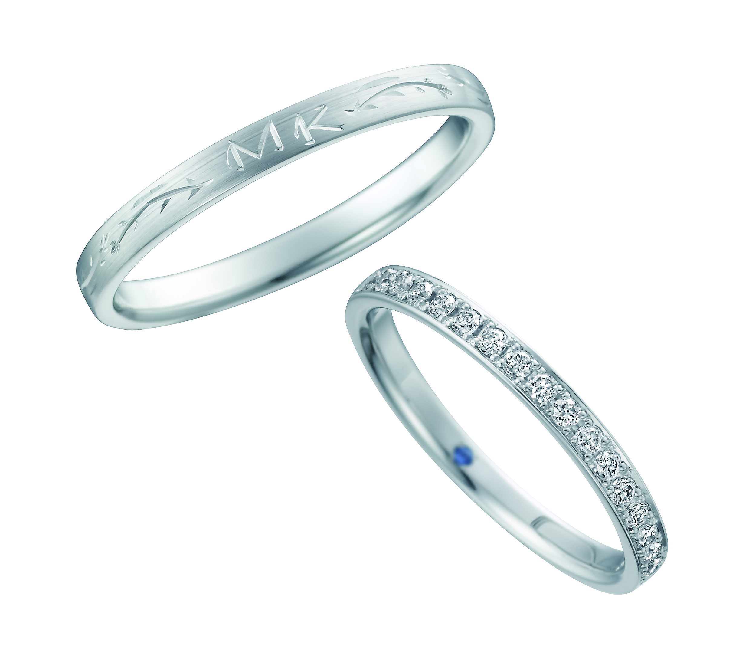 Wedding Bands - Singapore:SB-830/SB-831_02